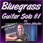 BLUEGRASS GUITAR SOLO #1