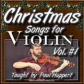 CHRISTMAS SONGS For Violin - Volume 1