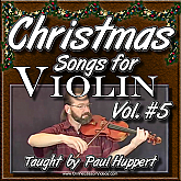 CHRISTMAS SONGS For Violin - Volume 5