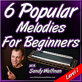 6 Popular Melodies For Beginners - Vol. 1 - For Harmonica