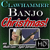 Christmas Songs for Clawhammer Banjo
