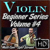 #4 Violin Beginner Series - Violin & Bow Posture & Tapes for the fingerboard