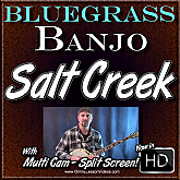 SALT CREEK - Bluegrass Banjo Lesson
