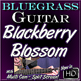BLACKBERRY BLOSSOM - Bluegrass Guitar Lesson