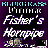 FISHER'S HORNPIPE - Bluegrass/Irish Fiddle Lesson