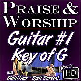 PRAISE & WORSHIP GUITAR - Vol. #1 - The Key of G