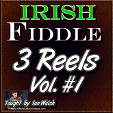 3 Irish Reels - for Fiddle - Salamanca, The Banshee, The Sailor's Bonnet