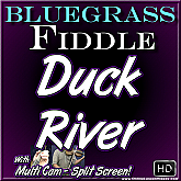 DUCK RIVER - Bluegrass Fiddle Tune