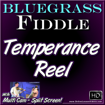 TEMPERANCE REEL - for Bluegrass Fiddle