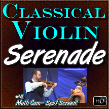 SERENADE - by Franz Schubert - for Classical Violin