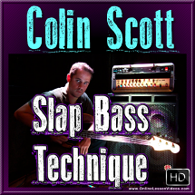 Colin Scott Slap Bass Technique