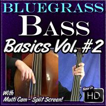 Bluegrass Bass - Basics Volume #2
