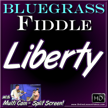LIBERTY - Bluegrass Fiddle Lesson