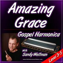 AMAZING GRACE - Gospel Harmonica Lesson
