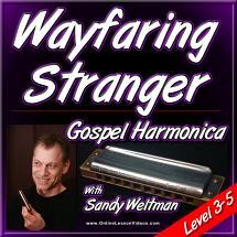 WAYFARING STRANGER - Gospel Harmonica Lesson