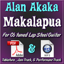 Makalapua - Tablature & Mp3 Tracks - arr. by Alan Akaka