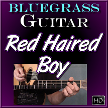 RED HAIRED BOY - Bluegrass Guitar Lesson