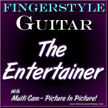 THE ENTERTAINER - Fingerstyle Guitar Solo