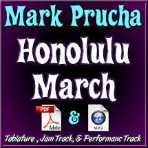 Honolulu March - for C6 Lap Steel - arr. by Mark Prucha