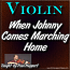 When Johnny Comes Marching Home - with Sheet Music!