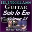 E Minor Bluegrass Guitar Solo #1
