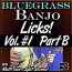 Bluegrass Banjo Licks - Volume #1 - Part B