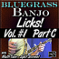 Bluegrass Banjo Licks - Volume #1 - Part C