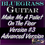 Make Me A Pallet On The Floor - Bluegrass Solo - Advanced Version for Guitar