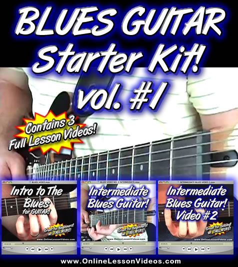 THE BLUES GUITAR STARTER KIT VOLUME 1 - For Guitar