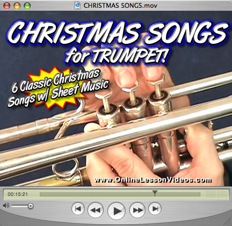 CHRISTMAS SONGS VOL. 1 FOR TRUMPET