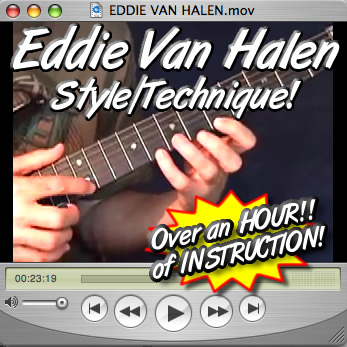 FOR GUITAR - IN THE STYLE OF EDDIE VAN HALEN