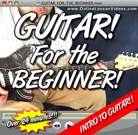 GUITAR FOR THE BEGINNER!