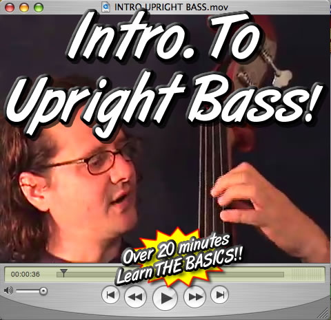 INTRO TO UPRIGHT/STANDUP BASS