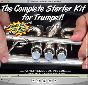 THE COMPLETE STARTER KIT FOR TRUMPET