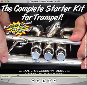 THE COMPLETE STARTER KIT FOR TRUMPET