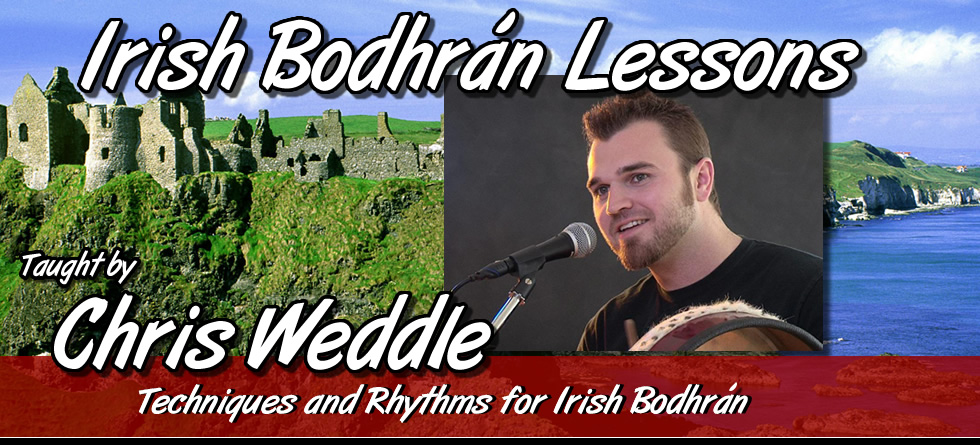 Chris Weddle - Irish Bodhrán Lessons