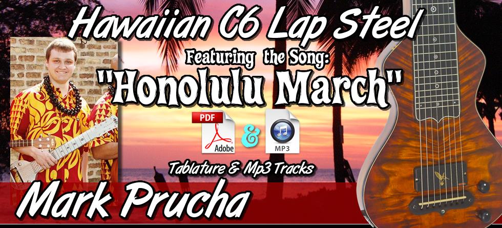 Honolulu March - arr. by Mark Prucha