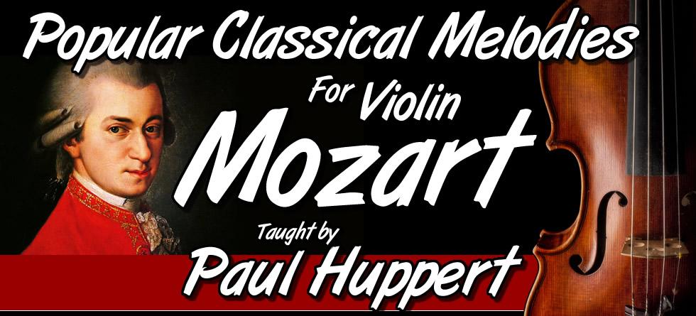 Popular Classical Melodies For Violin - Vol. #1 - Mozart