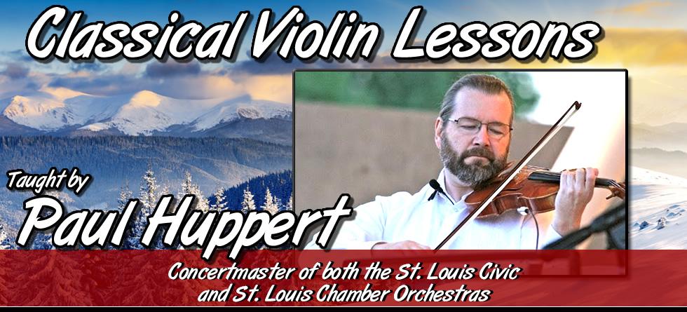 Paul Huppert - Classical, Gospel/Folk Violin