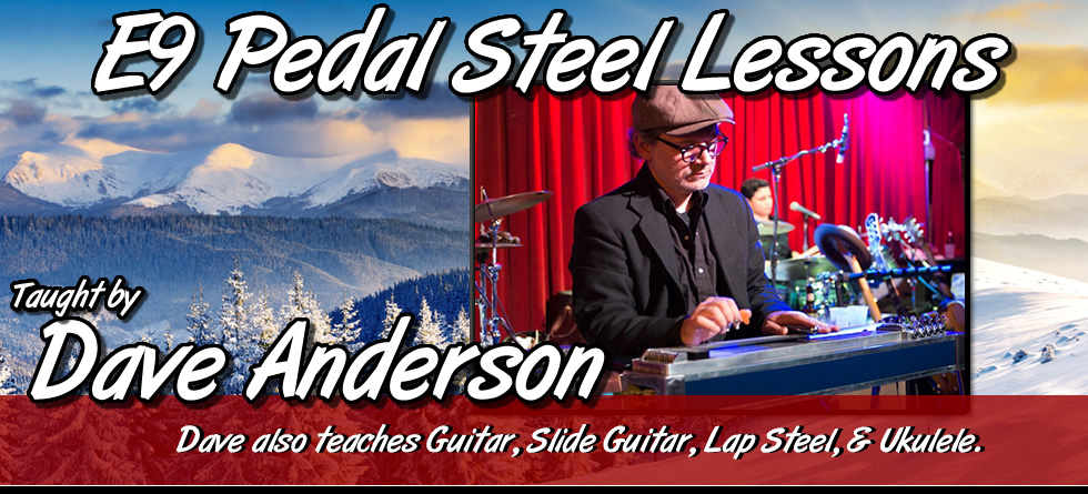Dave Anderson - Pedal Steel Lessons