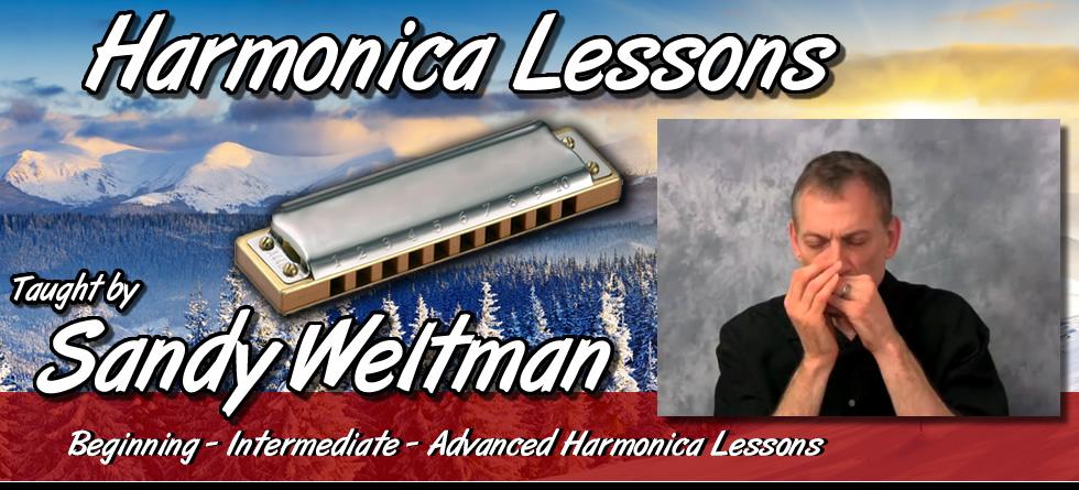 Sandy Weltman - Harmonica Lessons