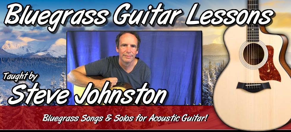 Steve Johnston - Bluegrass Guitar Lessons